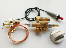 Custom made low price industrial brass automatic shut off gas safety device with piezoelectric Ignition