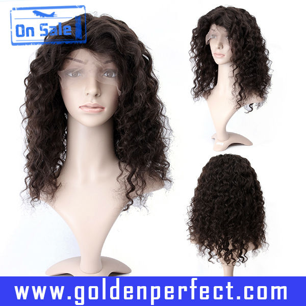 Factory permanent hair wigs for men, afro full lace wigs synthetic hair