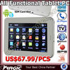 "7"" Dual core Android 4.1 Tablet Pc Pad 3g Sim Card Calling"