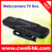 TV Box HD5 Allwinner A31s Quad Core Dual Mic Dual Speaker Bluetooth WIFI 5.0MP AF Webcam Camera wholesale android tv box