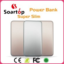 super slim power bank without battery for all mobile phone use
