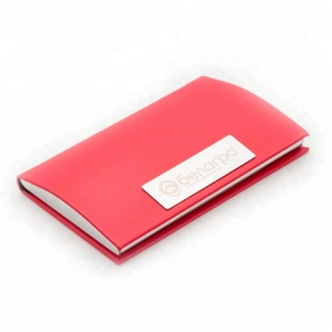 Pls contact us for discount coupon,Factory high quality custom name metal business card holder