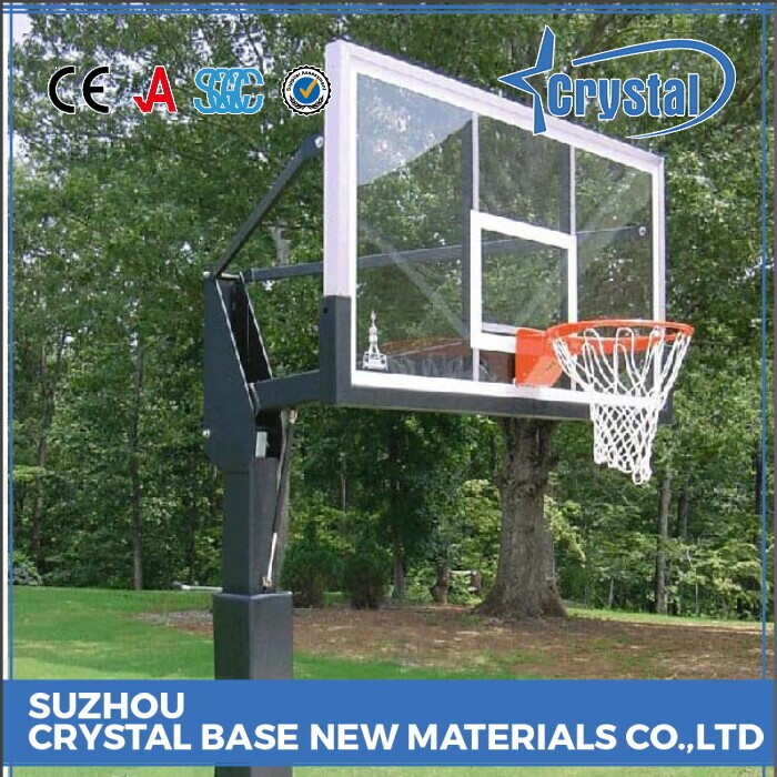 Top Factory Basketball Tempered Backboard Glass