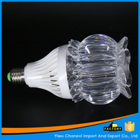 Full color Beautiful flower shape led bulb light