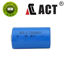 2/3A,Open Current Volt 3.66V ER17335m ACT Lithium Battery1700 mA Factory Price Wholesale Now.