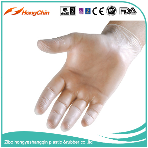 A grade powder free disposable heavy duty blue nitrile gloves for oil industrial