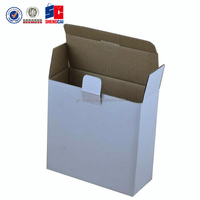 Custom Shape brown/white corrugated box, toy/tool packing paper box