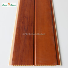 20cm Wooden decorative pvc ceiling boards prices