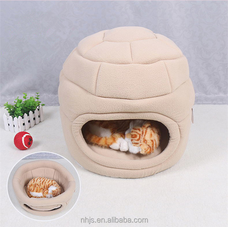 Pet Products New Design Round Pet Nest Sleeping House Soft Dog House Warm Cat House
