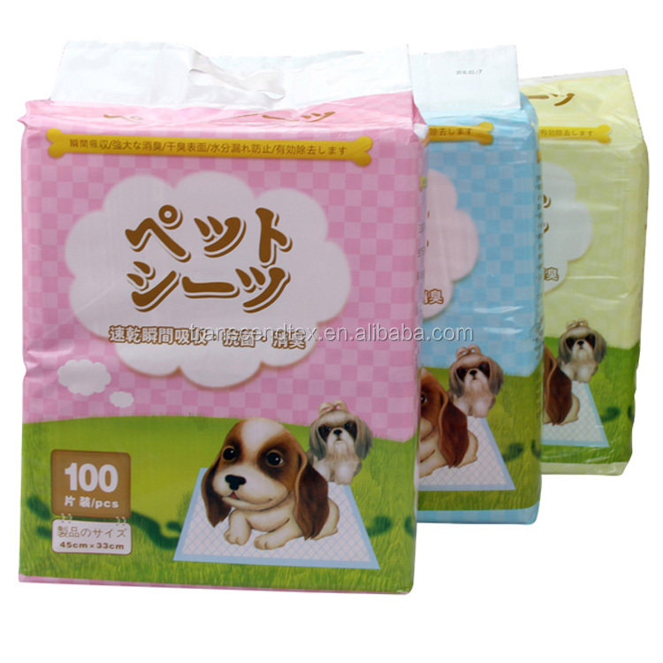 Wholesale High Quality Nonwoven Disposable urine absorbent pet select pee pee pads