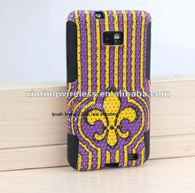 2in1 combination imperial crown phone case for Samsung galaxy s 2 i9100