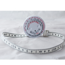 BMI Tape Measure Body Mass Index Retractable Tapes Diet Weight Loss Ruler