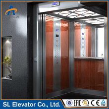 Easy Operation Two Sides Downlight Decorate 1000Kgs 13 Persons 2.5m/s Shipping Mall Elevator Lift Passenger