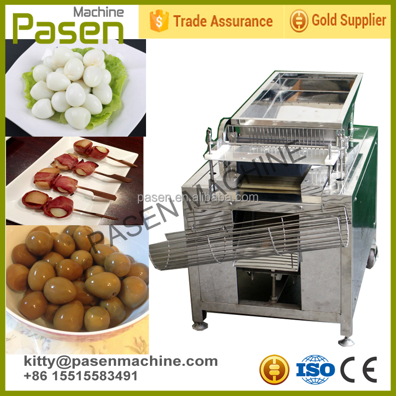 Best selling boiled quail egg peeling machine / quail eggs peeler machine / quail egg processing machine