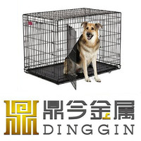 Ready made wire enclosure dog crates