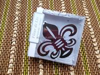 Iris bookmark with Elegant Wedding Favors