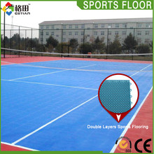 Modified PP high quality non-slip tennis court flooring material