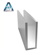 U Channel aluminum extrusion structural aluminum framing led profile