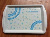 Cheap plastic serving trays barware serving tray plastic restaurant serving tray