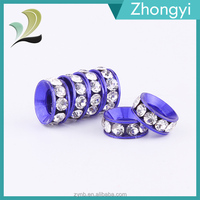 2016 New Design Rhinestione 10mm Diamond Spacer Beads