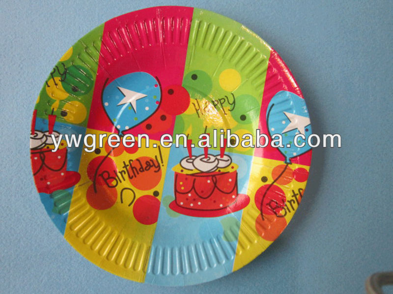 take away paper plate/paper plate manufacturer/disposable take away plate