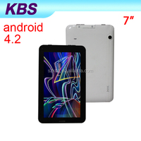"7"" Android 4.2 OS Boxchip A13 Android Mid Driver Usb With 2G Phone Call,Two Cameras"