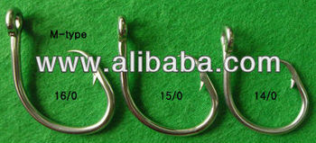 circle hook, stainless steel