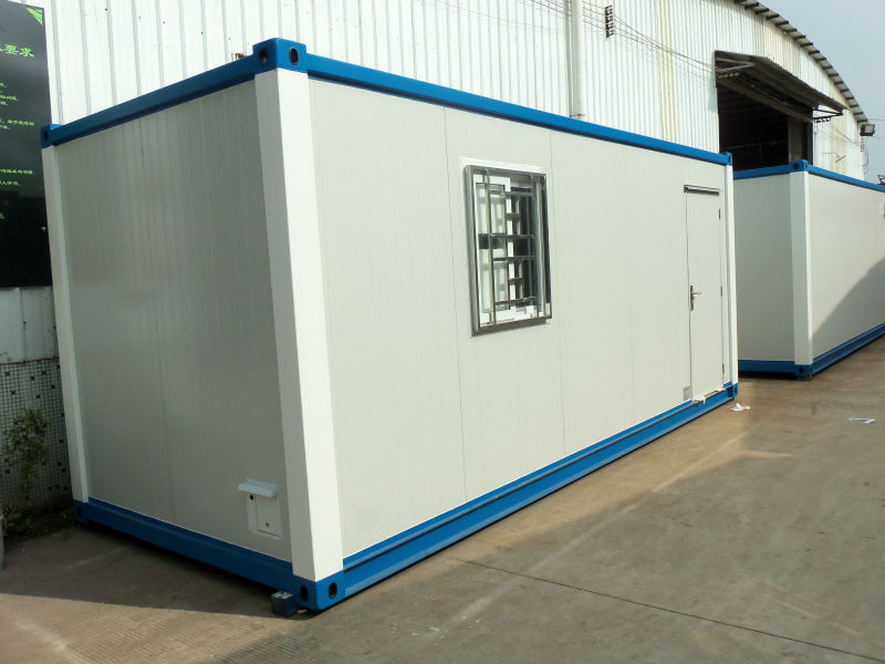 Fast construct flat pack container house modular