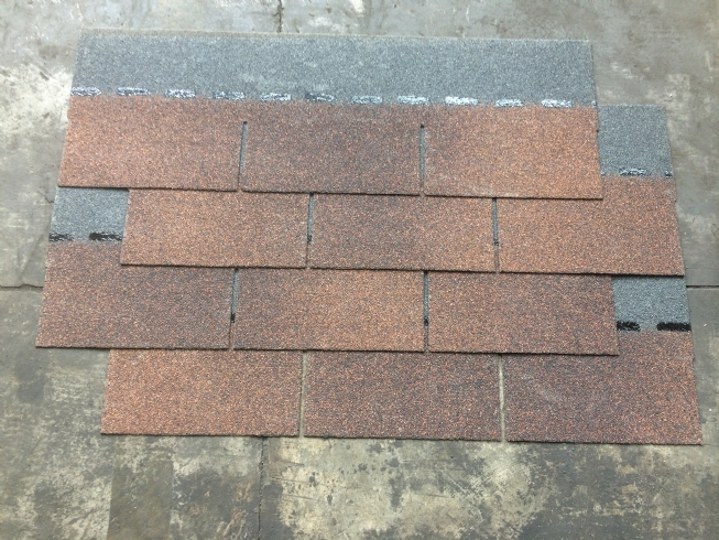 3-tab asphalt shingle