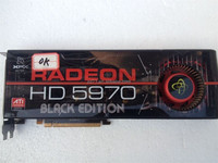 HD5970 Video Card ATI RADEON 2GB DDR5 VGA Card HD 5970 Graphic Card DHL EMS Free Shipping