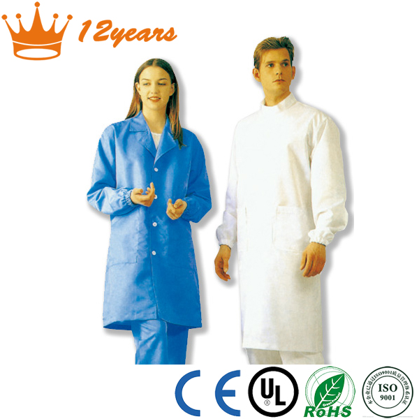Hot Sale Antistatic Work wear For used in cleanroom with high quality antistatic clothes