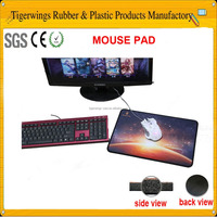 Tigerwingspad promotional rubber mouse mat with custom printing