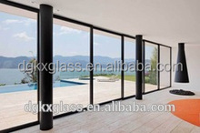 2017 most popular low-e insulated glass price for sunshine hut and commercial wall CB-20