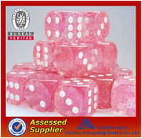 Promotional Plastic Playing Game Colored Dice Wholesale
