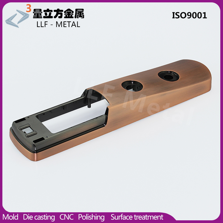 Precisely casting internal door lock cover/handle parts