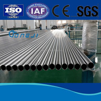 High Quality seamless Titanium Tube For Condensers, heat exchangers using ASTM B338 ASME SB338