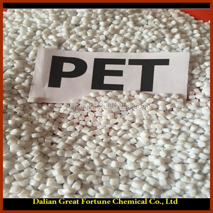 Free sample ! Virgin and recycled PET Poyester granule / PET chips bottle grade / PET resin raw material