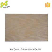 100% Non-Asbestos MDF Board Faux Wood Effect Siding For Residential Houses