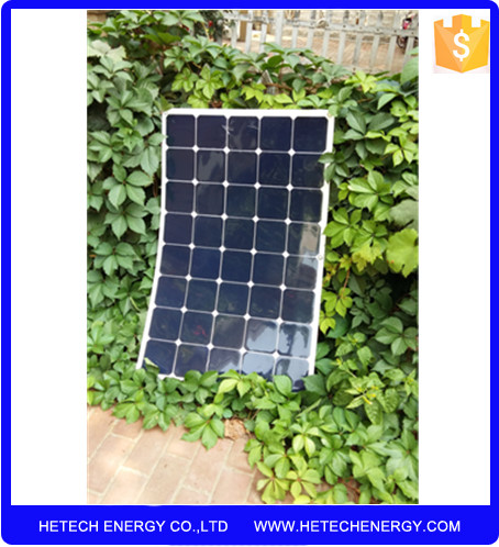 Bended solar pv module Price 150 watt mono sun power flexible solar panel