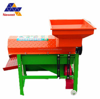 farm equipment dry corn sheller/maize shelling machine/electric powered dry corn sheller