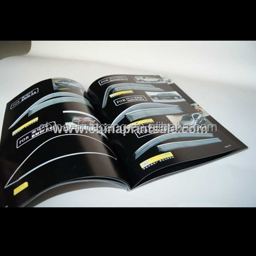 Alibaba High Quality Offset printing black tail magazine