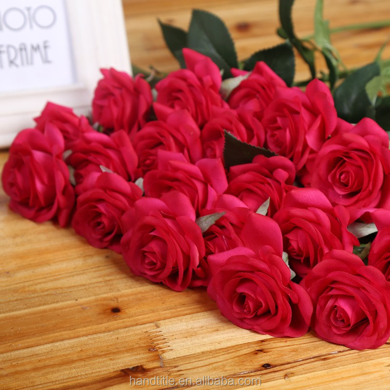 valentine's day gift artificial rose <strong>flower</strong>