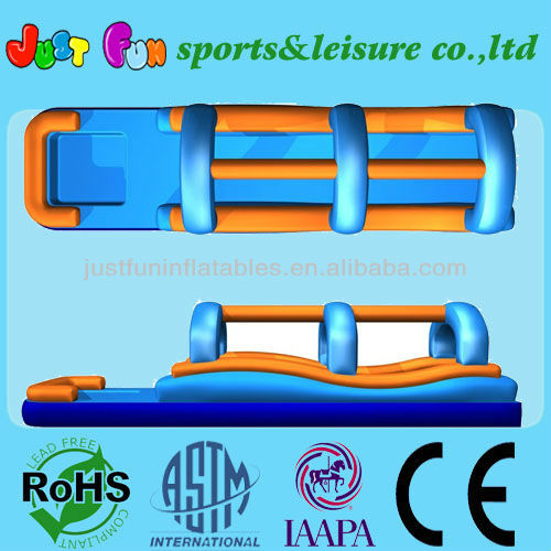 32'L large Inflatable Slip n Slide double lanes,slip slide for kids and adult