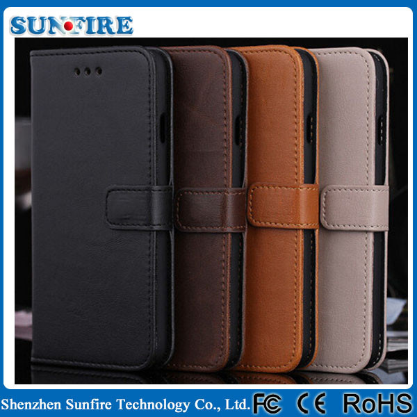 for Apple iphone 6 Leather protective case phone leather case