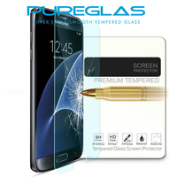 2016 new 9h 0.3mm with high quality explosion pureglas tempered glass screen protector for Samsung galaxy