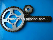 chain kit for motor scooter, 428 428H chain and sprocket