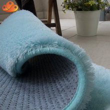 Wholesale china supplier non-slip area room shaggy carpet rug pad