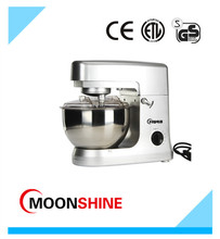 home use food stand mixer with 5L mixing bowl and beater and wisk and dough hook