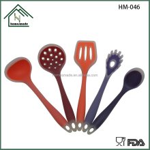 HM-046 colorful silicone bakeware set/silicone spatula set kitchen cooking tools utensil