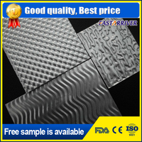 Thickness coated alu checkered sheet roll embossed aluminum sheet
